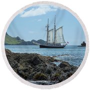 The R Tucker Thompson Round Beach Towel