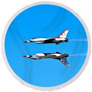 The Reflection Pass Round Beach Towel