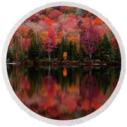 The Reflection Round Beach Towel