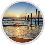 The Remembrance Round Beach Towel