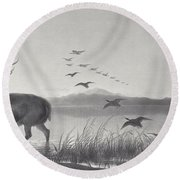 The Rescue Round Beach Towel