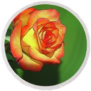 The Rose 4 Round Beach Towel