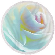 The Rose By Scott Cameron Round Beach Towel