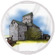 The Ross Elevator Autumn Round Beach Towel