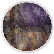 Sacrifice  Round Beach Towel by Mary Ward