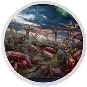 The Sacrifice Round Beach Towel