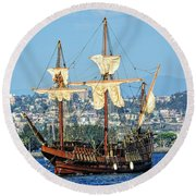 The San Salvador Round Beach Towel
