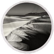 The Sands Of Time Round Beach Towel