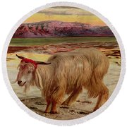 The Scapegoat Round Beach Towel