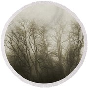 The Secrets Of The Trees Round Beach Towel