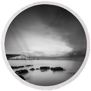 The Seven Sisters Round Beach Towel
