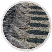 The Shade Brothers Round Beach Towel