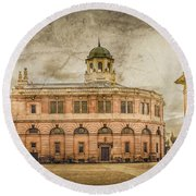 Oxford, England - The Sheldonian Theater Round Beach Towel
