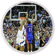 The Shot, 3.1 Seconds, Mario Chalmers Magic, Kansas Basketball 2008 Ncaa Championship Round Beach Towel