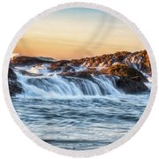 The Small Things Round Beach Towel