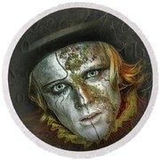 The Soul Stealer Round Beach Towel by Brian Tarr