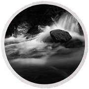 the sound of Ilse, Harz Round Beach Towel