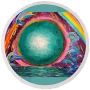 The Stargate Round Beach Towel