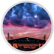 The Stone Pony Summer Stage Round Beach Towel
