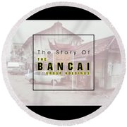 The Story Of The Bancai Group Holdings Round Beach Towel