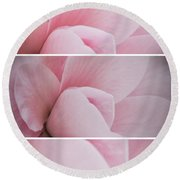 Round Beach Towel featuring the photograph The Sum Of The Parts by Linda Lees