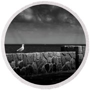 The Surveyor Round Beach Towel