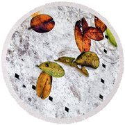 The Table Top Round Beach Towel
