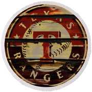 The Texas Rangers 4w Round Beach Towel