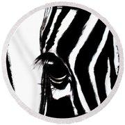 The Three Musketeers - Zebra Round Beach Towel