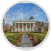 The Tisdale Manor Round Beach Towel