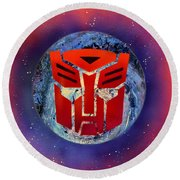 The Transformers Round Beach Towel