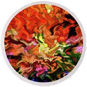 The Trend Round Beach Towel by Kellice Swaggerty