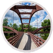 The Tridge  Round Beach Towel