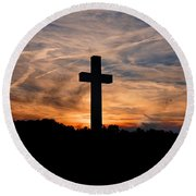 The Ultimate Sacrifice Round Beach Towel by Benanne Stiens