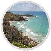 The View From The Cape Round Beach Towel