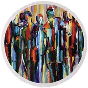 The Wanderers, Good People Series, Pure Justus Round Beach Towel