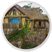 The Watermill, Bag End, The Shire Round Beach Towel