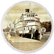 The Wenonah II Round Beach Towel