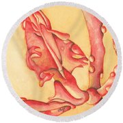 The Wet Dragon Round Beach Towel