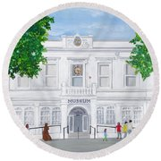 The Willis Museum, Basingstoke 2017  Round Beach Towel