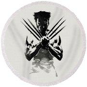 The Wolverine Round Beach Towel