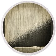 The Woods Round Beach Towel