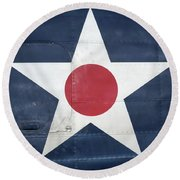 These Colors Don't Run - 2016 Christopher Buff, Www.aviationbuff.com Round Beach Towel