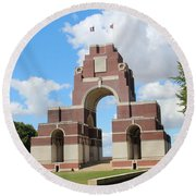 Thiepval Round Beach Towel