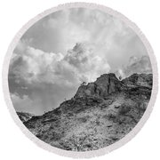 Thirsty Earth Round Beach Towel