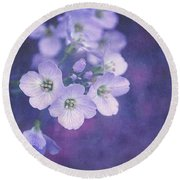 This Enchanted Evening Round Beach Towel by Lyn Randle