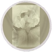 Round Beach Towel featuring the photograph This Soul by The Art Of Marilyn Ridoutt-Greene