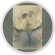 Round Beach Towel featuring the photograph This Tender Soul by The Art Of Marilyn Ridoutt-Greene