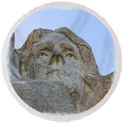 Thomas Jefferson 2 Round Beach Towel