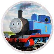 Thomas The Train Round Beach Towel